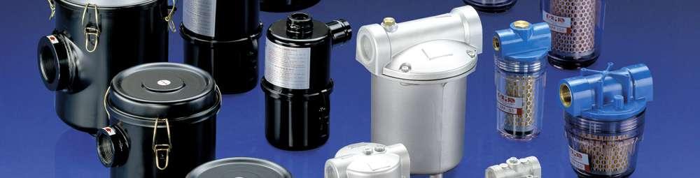 Vakuumfilter aus Polycarbonat - Serie FOT