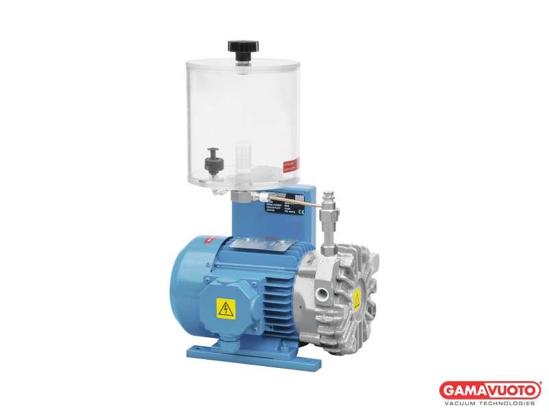 Vakuumpumpen mit Verbrauchsschmierung - 5-10 mc/h