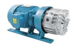 Vacuum pumps without lubrication - 10-25 mc/h