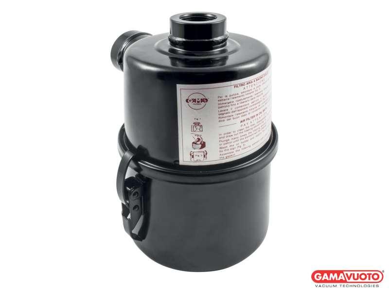 Ölbad-Vakuumfilter